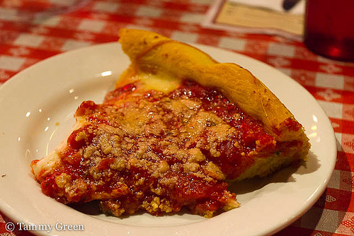 A slice from Gino\'s East
