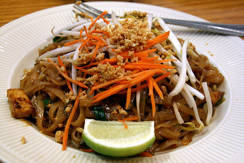 Pad Thai is definitely a cheap eat.