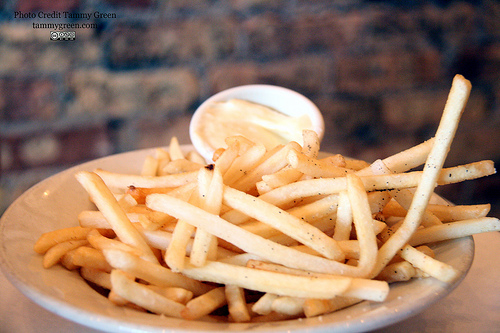Truffle fries. You can never have too much truffle I say!