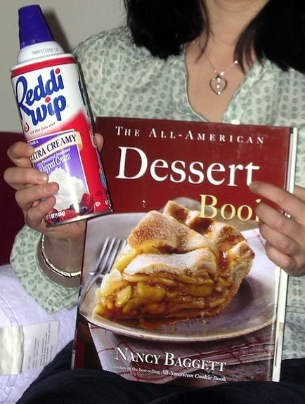 For many recipes, Reddi Whip is a key ingredient.
