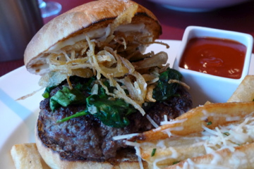 "The ""Burker"" at Primehouse, named after the chef, gives Kuma's a run for its money."