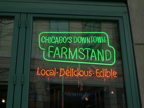 Farmstand sign