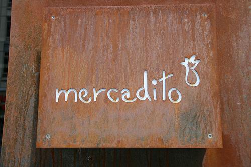 Mercadito | sign