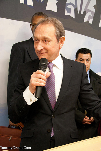 Mayor Bertrand Delanoe