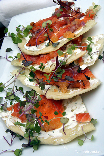 Volo | House Cured Salmon Flatbread