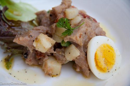 Ahi Tuna Confit Salade Nicoise