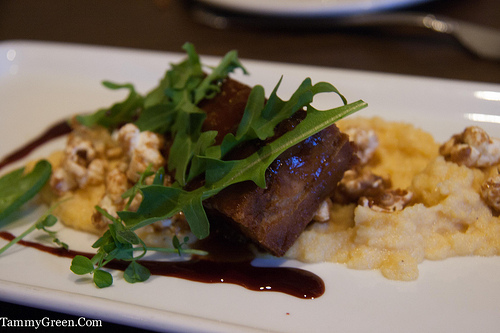 Pork Belly & Caramel Corn