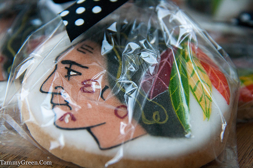 Blackhawks Cookie | Sarah's Pastries