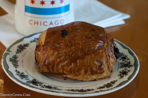 Lovely Chocolate Croissant