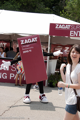 Zagat Guide | Taste of Chicago