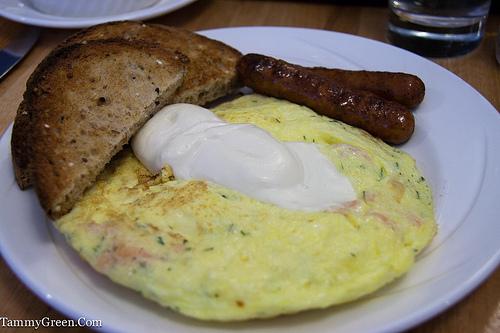 Bakin' & Eggs | Salmon & Dill Fritatta