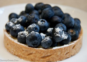 Blueberry/Lemon Tart