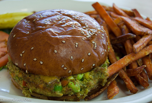 Cornerstone Cafe | Veggie Burger