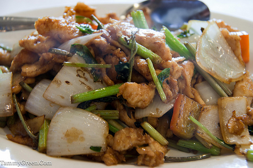 Nine Storied Pagoda Chicken