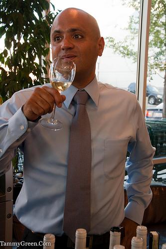 Master Sommelier Serafin Alvarado