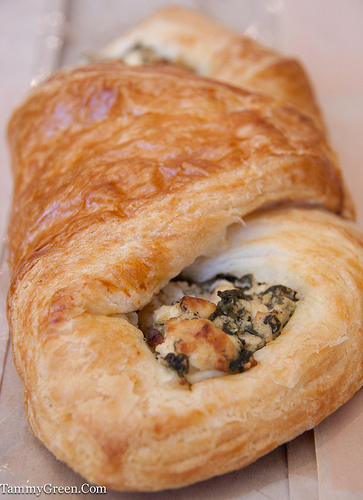 Oak Mill Bakery | Spinach Croissant