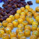 Painted Pumpkin Chocolates | Les Nomades