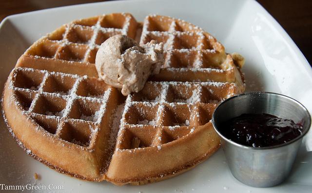 Waffle | Fiddlehead Cafe