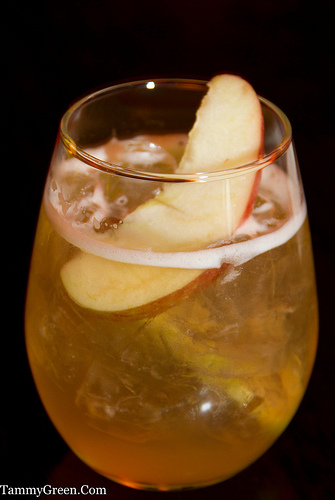 Basil Apple Bubbly