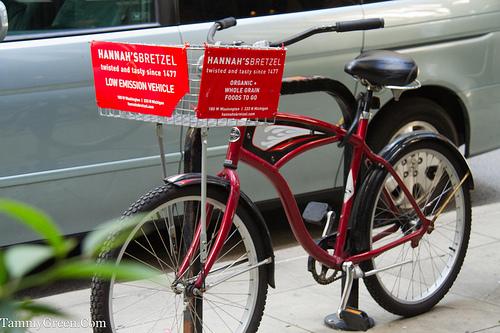 Hannah's Bretzel Bike