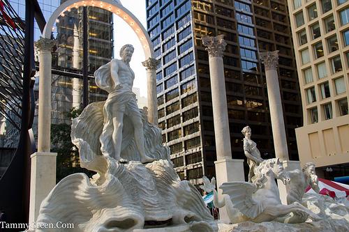 Faux Trevi Fountain