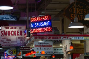 Reading Market Terminal | Breakfast & Sausage Sandwiches