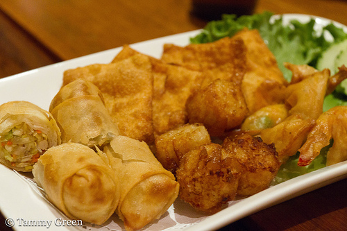 Opart Thai House | Sampler Plate