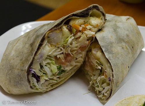 Abuelo's Mexican Grill | Shrimp Burrito