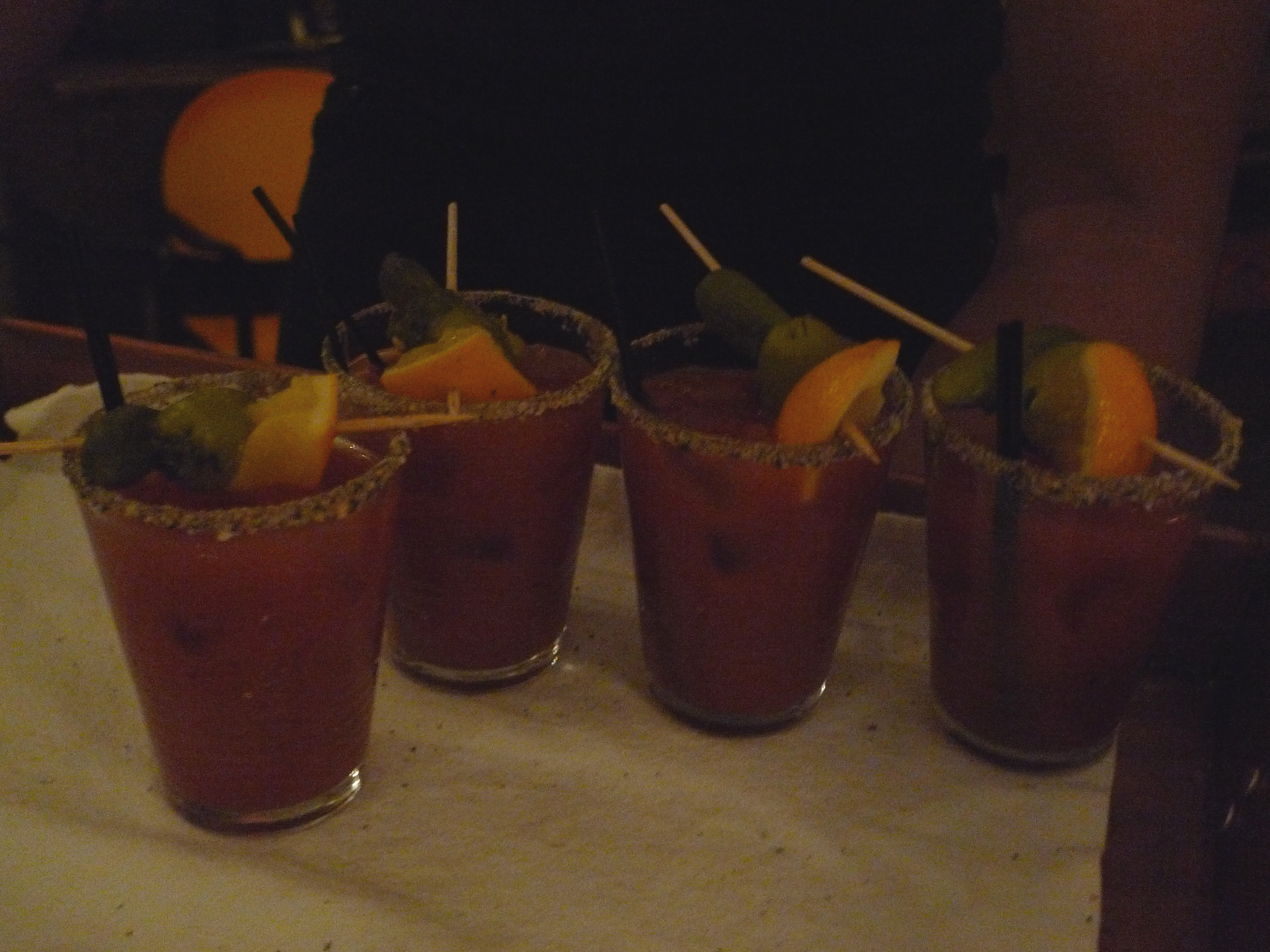 """Bloody Mary starts """"breakfast"""" off right."""