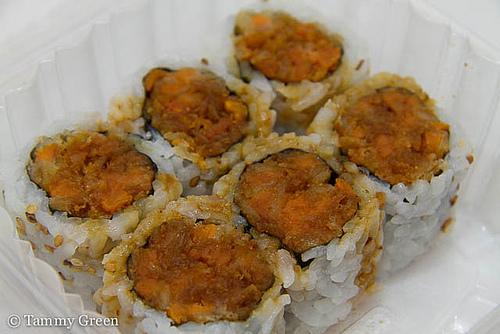Sweet Potato Roll | Sushi Luxe