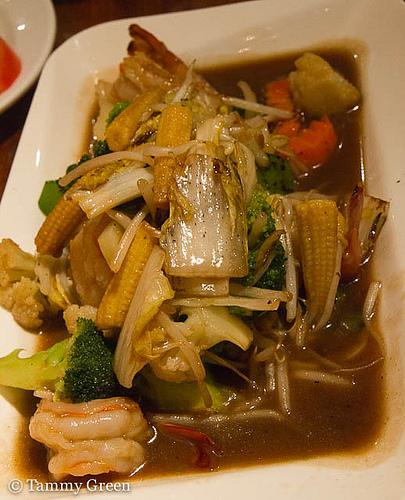 Pad Paak Roum Mit | Opart Thai House