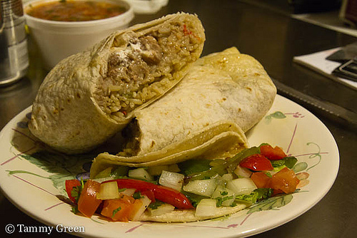 California Burrito & Fajita Taco | Rockin' Taco