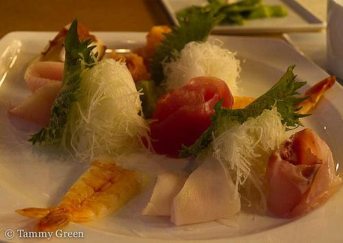 Sashimi Plate | Fin Sushi