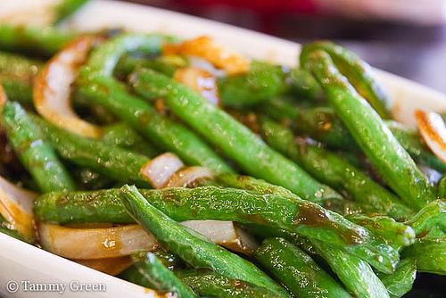 Joy Yee | Szechaun Green Beans