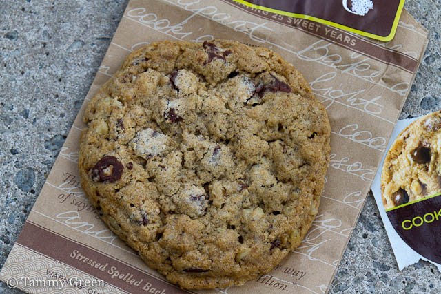 DoubleTree Cookie Give-away