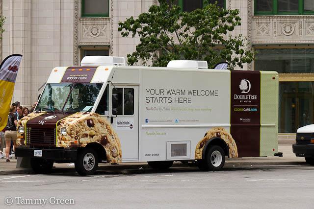 DoubleTree Cookie Truck