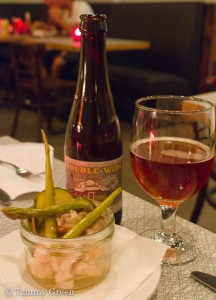 Double-wide IPA and pickled vegetables | Northdown Cafe & Tap Room