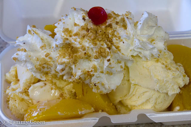 Peach Sundae | Margie's Candies