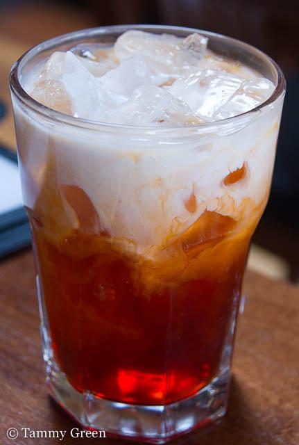 Thai Iced Tea | Opart Thai House