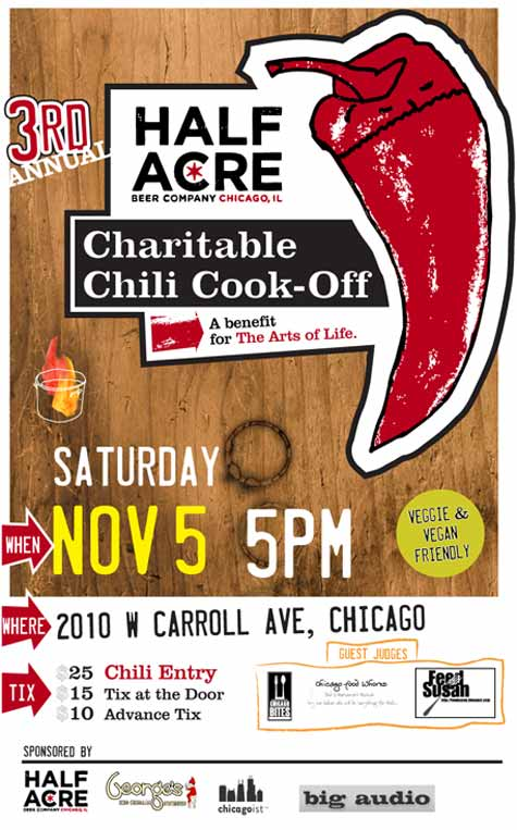 Arts of Life Chili Cook-Off