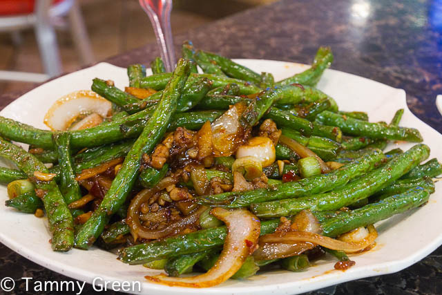 Stir-fried String Bean | Chi Cafe
