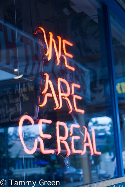 We Are Cereal | Glenn's Diner