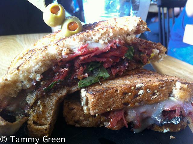 Dryhop Lamb Sandwich