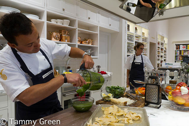 Williams-Sonoma Cooking Demonstration