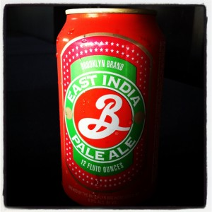 East India Pale Ale Brooklyn Brewery