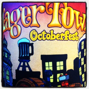 Half Acre Lager Town Octoberfest