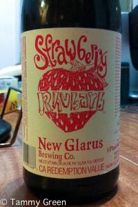 New Glarus Strawberry Rhubarb
