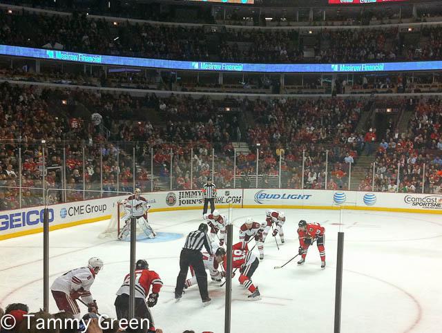 Blackhawks vs. Coyotes
