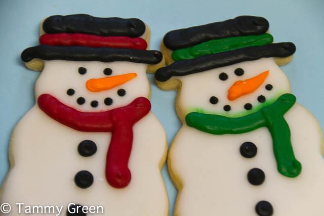 Snowman Cookies | Sensational Bites