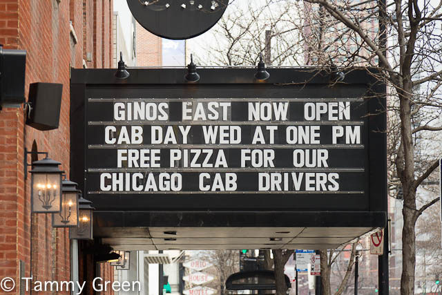 Cab Driver Day | Gino's East